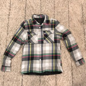 Rare Oakley Flannel Insulated Jacket